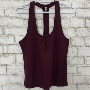NWT Free People Intimately Racerback Top